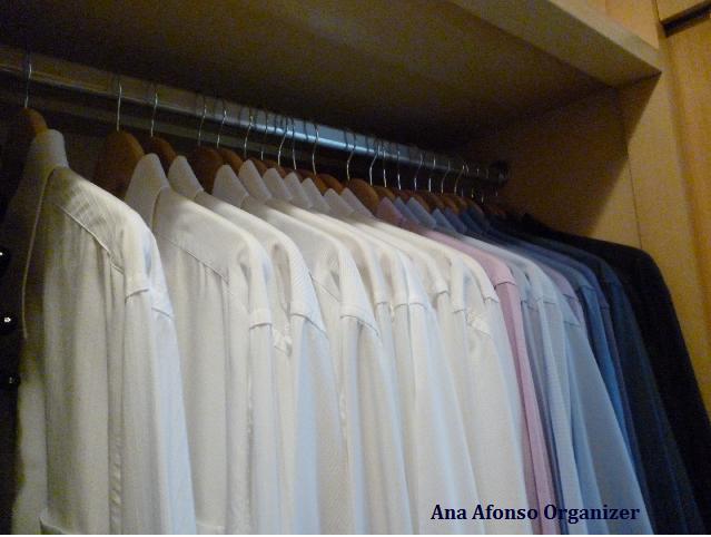 Camisas no closet