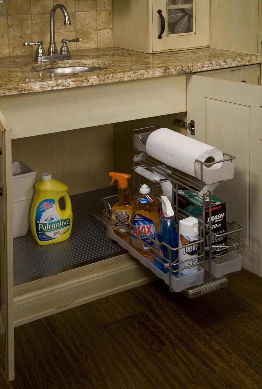 Preferência Organização do espaço embaixo da pia na cozinha – Ana Afonso Organizer CT27