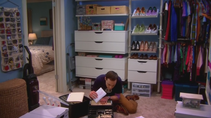 The Closet Reconfiguration - The Big Bang Theory 3